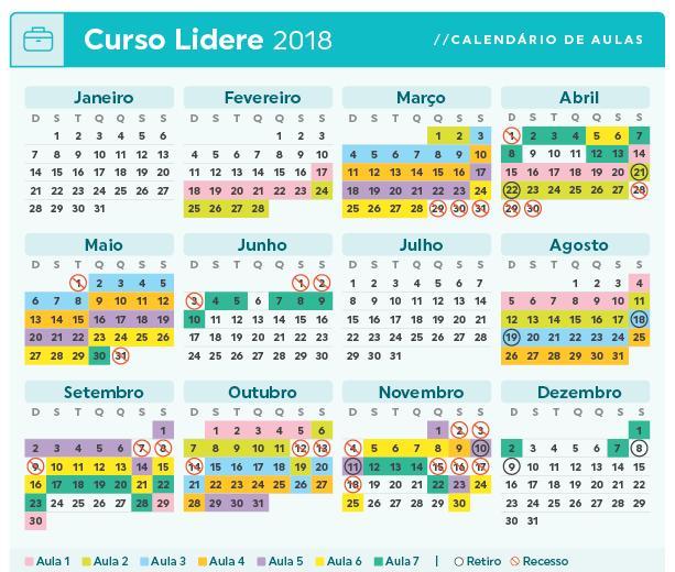 Calendario Lidere