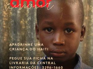 Apadrianhe uma criança do Haiti